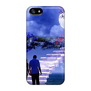 Top Quality Case Cover For Iphone 5/5s Case With Nice Couple Appearance
