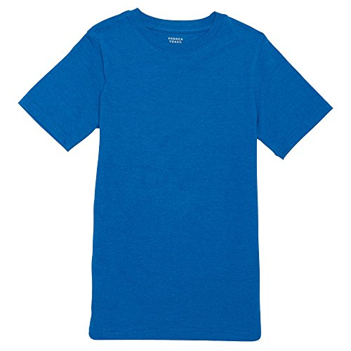 Diver Kids T-shirt (French Toast Little Boys' Short Sleeve V-Neck Tee, Skydiver Heather, 6)