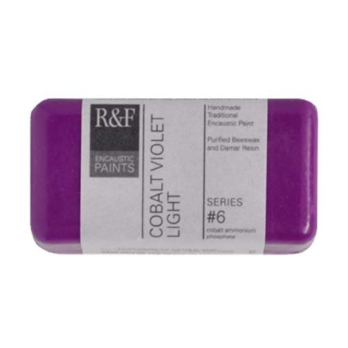 R&F Encaustic 40ml Paint, Cobalt Violet Light (Violet Cobalt Light)