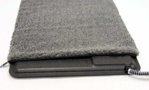 K&H Pet Products Extreme Weather Kitty Pad Deluxe Cover Gray 12.5