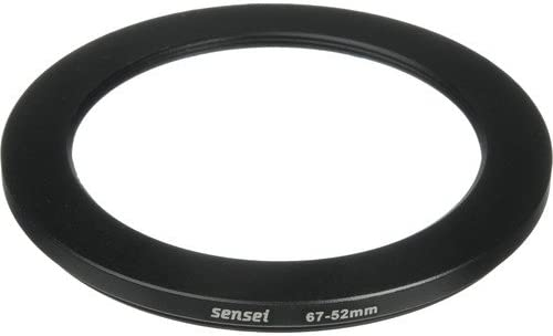 3 Pack Sensei PRO 67mm Lens to 52mm Filter Aluminum Step-Down Ring
