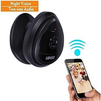 Amazon Com Mini Ip Camera Uokoo Home Wifi Wireless