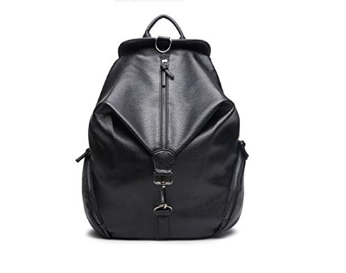 GAMT PU Leather Retro Style Backpack Large Capacity