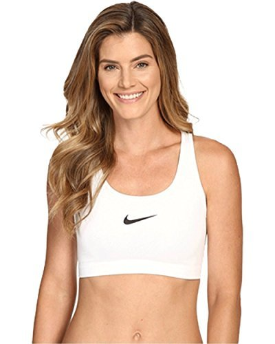 9e7dac215c Nike Womens Pro Classic Sports Bra - White Black Size Medium