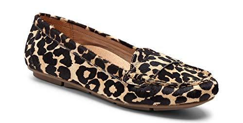 Vionic Women's Chill Larrun Loafer Tan Leopard 9.5 M US