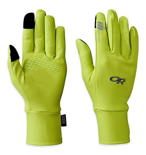 Outdoor Research Women's Pl Base Sensor Gloves, Lemongrass, Medium Sensor Base