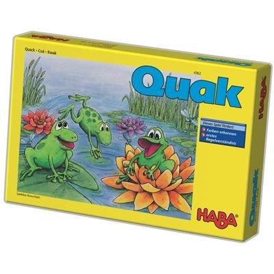 HABA 4362 - Quak, Würfelspiel