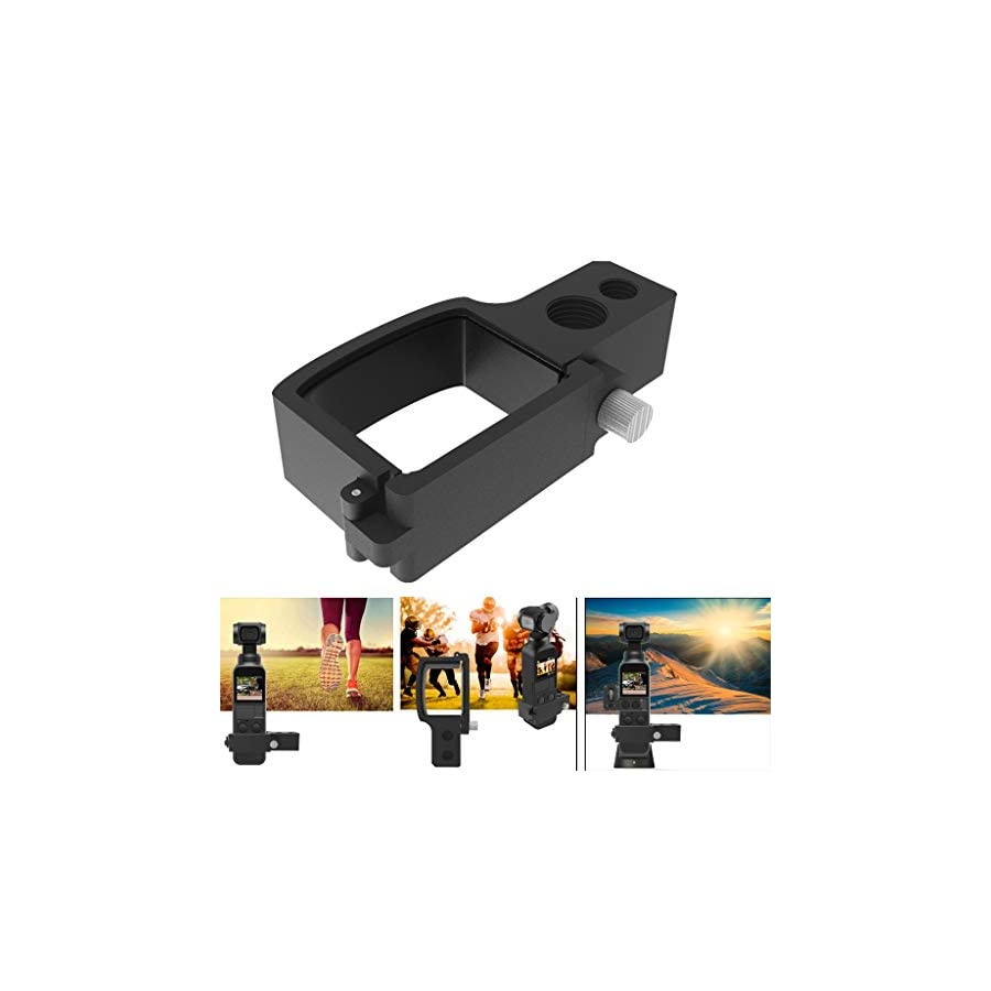 Vacally Expansion Board for DJI Osmo Pocket Adapter Plate Handheld Gimbal Expansion Board Module for DJI OSMO POCKET Camera Holder