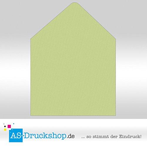 Briefumschlag KuGrün - Birkengrün Quadrat - 160 x 160 mm mm mm   50 Stück B0794ZBXC4 | Billig  702715