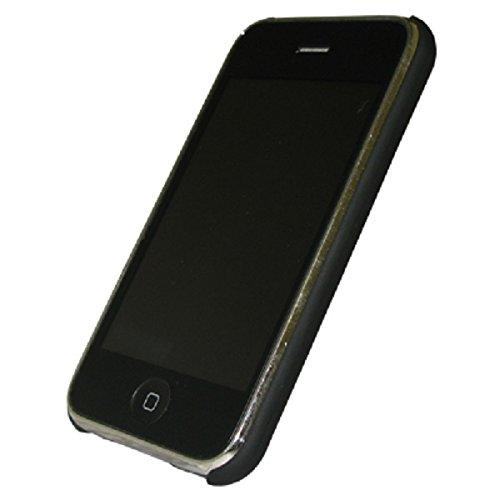 Premium Custom Apple iPhone 3G, 3Gs Stealth Cover Polycarbonate Shell Hard Case, Jet Black