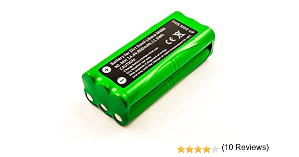 Batería Compatible con Dirt Devil Libero M606, 800 mAh