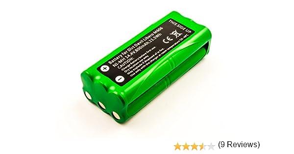 Batería compatible con Dirt Devil Libero M606, 800 mAh: Amazon.es: Electrónica
