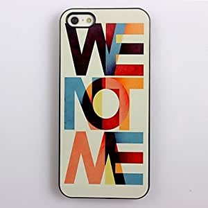 LIMME We Not We Design Aluminum Hard Case for iPhone 4/4S
