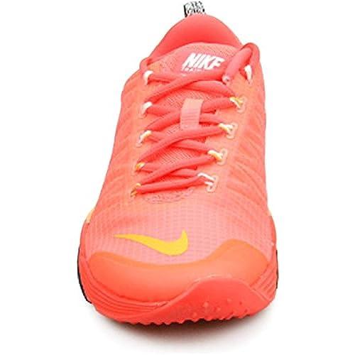 8a9e82580d0c Nike Womens Lunar Cross Element Hot Lava Bright Crimson Black Citrus  653528-801 Size 7
