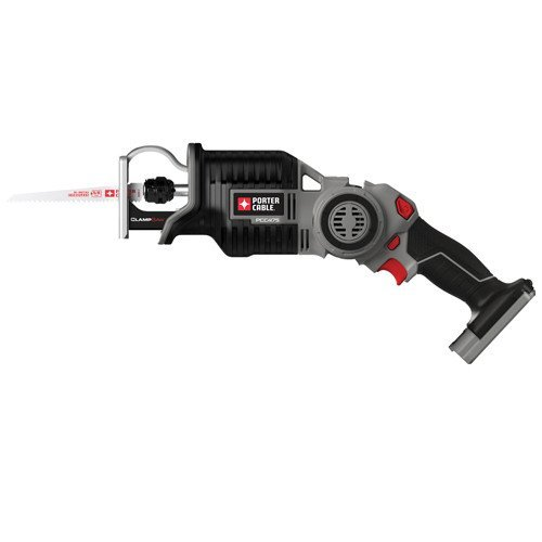 Factory-Reconditioned Porter-Cable PCC475BR 18V Cordless Lithium-Ion ClampSaw Pivoting Reciprocating Saw (Bare Tool)