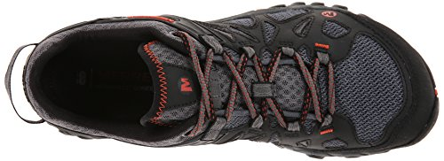 Merrell Men's All Out Blaze Aero Sport Hiking Water Shoe, Black/Red, 7 M US by Merrell (Image #8)