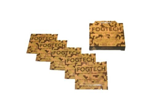 FogTech MotoSolutions Advanced Anti Fog 5 Pk - Camo
