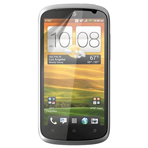 HTC ONE VX XtremeGUARD© Screen Protector (Ultra CLEAR) (Screen Protector Htc One Vx)