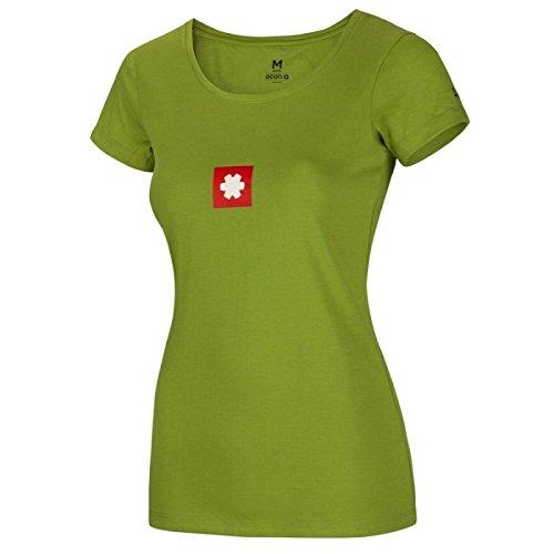 Ocun Logo Tee - Grün - Damen T-Shirt Größe S  Amazon.de  Sport   Freizeit 30c857c4ec