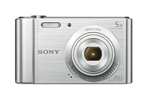 Sony W800/S 20.1 MP Digital Camera (Silver) from Sony