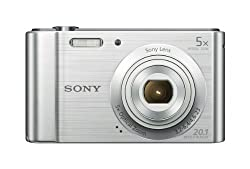 Sony W800s 20.1 Mp Digital Camera (Silver)