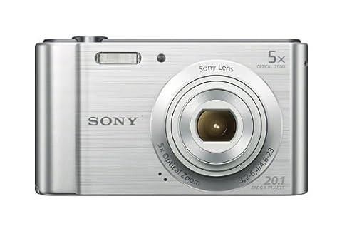 Sony W800/S 20.1 MP Digital Camera (Silver) (Digital Cameras)