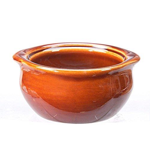 Vertex China OSC-10-B Brown Accessories Onion Soup Crock, 4-3/4
