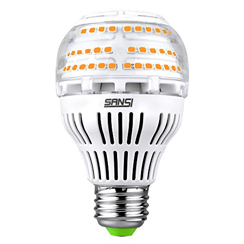 (Upgrade) 17W (150-200 Watt Equivalent) A19 Dimmable Ceramic LED Light Bulb, 2500 Lumens Bright Led Bulbs, 3000K Soft Warm Light, E26 Medium Screw Base, 5-Year Warranty, ()