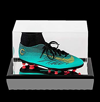 7951460092b5 Cristiano Ronaldo Autographed Signed Nike Cr7 Mercurial Superfly Vi High  Top Boot In Acrylic Case at Amazon's Sports Collectibles Store