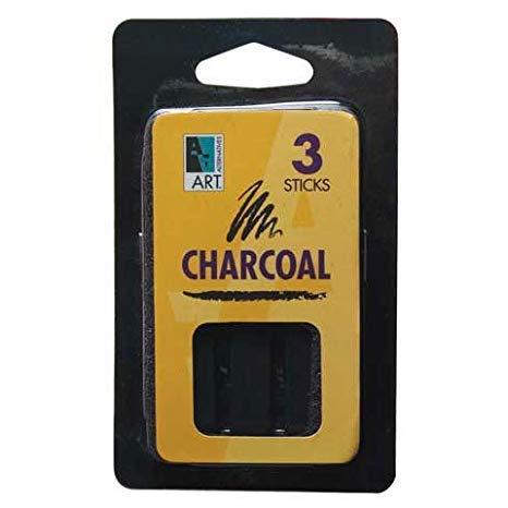 Art Alternatives Compressed Charcoal Sticks 6 Pack
