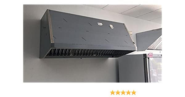 Campana Industrial EXTRACTORA 1200X800X700 MM C/Motor: Amazon.es: Hogar