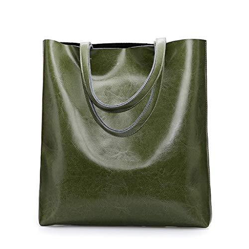 Green Main Diagonale À PU Sac Capacité Simple Lxf20 Mode Sac Dames Grande Mode Épaule O74nFwqT