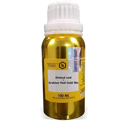 Parag Fragrances Dehnal Oud + Arabian Oud Gold Mix Attar 100ml (Alcohol  Free Attar for Men) Perfume Oil | Scent | Itra
