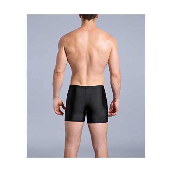 WHCREAT Uomo Costume da Bagno Sportivo Pantaloncini da Surf Protezione UV Resistente al Cloro