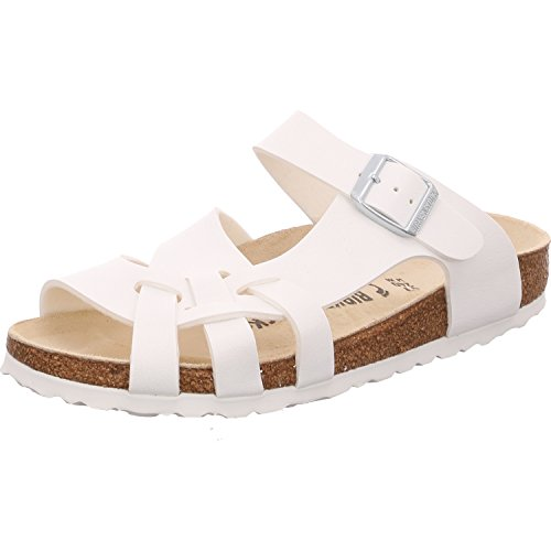 Birkenstock Sandals Pisa from Birko-Flor in White 35.0 EU N 4Vgw6vG6