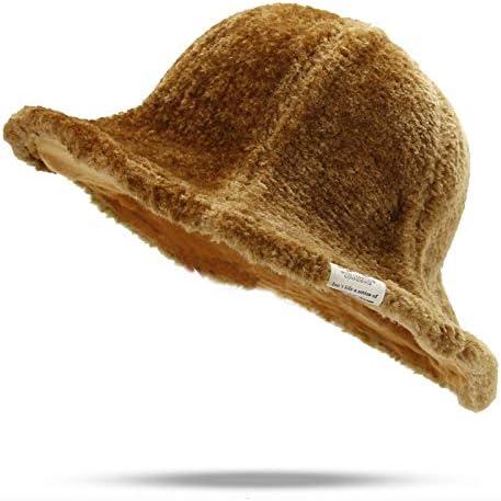 Flat Plush Hat Autumn...