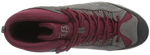 Mixte Hautes Brütting Adulte Bordeaux Randonnée Mount Chaussures High de Bona Grau Gris Grau Bordeaux xrnw0YnqZ
