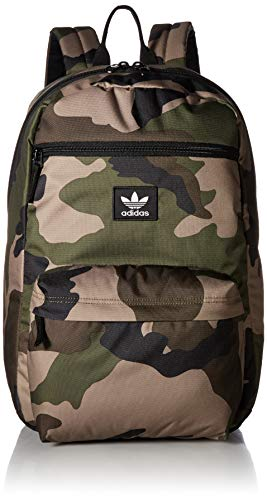 adidas Originals National Backpack, Olive Cargo Aw Camo, One Size