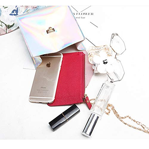 Mujer Rosa Yootm011 Al Pvc De Yoome Gris Para size pink Beige Hombro Bolso One w8cqqvdt
