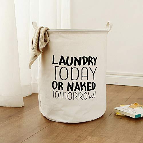 (Hot Sale!DEESEE(TM)Waterproof Sheets Laundry Clothes Laundry Basket Storage Basket Folding Storage Box (E))