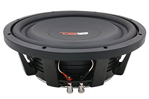 10 Cone Woofer Paper - DS18 SW10S4 Shallow Mount Subwoofer - 10