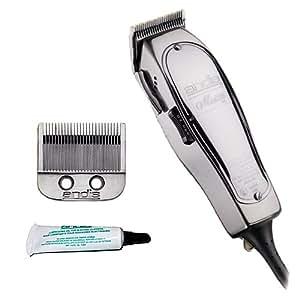 Andis Master 15-Watt Adjustable Blade Hair Clipper, Silver (01557)