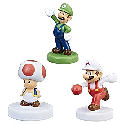 Monopoly Gamer Power Pack Bundle - Luigi, Toad, and Fire Mario: Toys & Games