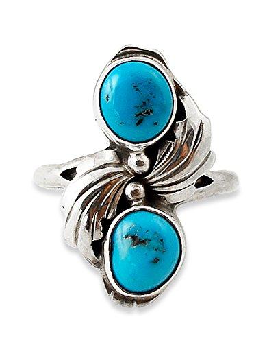 Navajo Turquoise Ring - 8