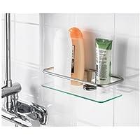 Shower Shelf - Chrome Finish, H6cm, W24.1cm