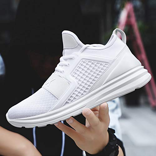 Estudiante Blanco Calzado Cojines Sneakers Con Zapatos Beladla Deportivos Deporte Net Running Zapatillas Gimnasia Hombre Aire De Tejidos Deportivas Volar Unsexy Mujer Para 6W1wqvA