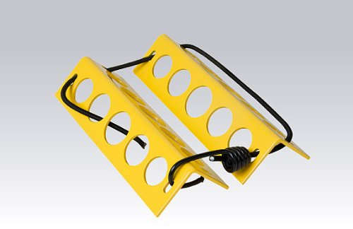 Aluminum Chock (DeGroff Aviation Aluminum Chocks - Yellow)