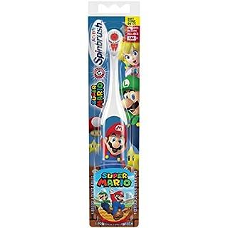 Arm & Hammer Kid's Spinbrush Super Mario Powered Toothbrush, 1 Count (B00JJ6MTIW) | Amazon price tracker / tracking, Amazon price history charts, Amazon price watches, Amazon price drop alerts