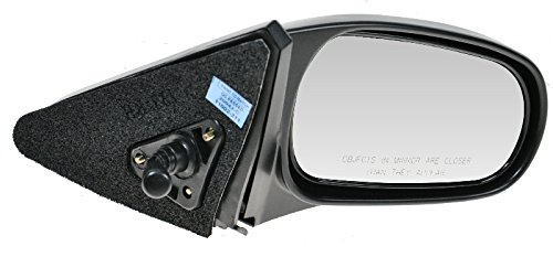 (Manual Remote Side View Door Mirror Right Passenger Side for 96-00 Honda)