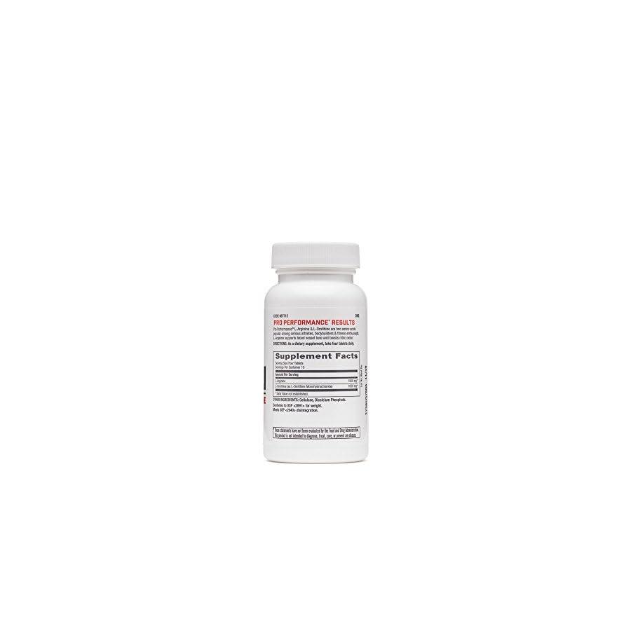 GNC Pro Performance Arginine and Ornithine 60 Tablets